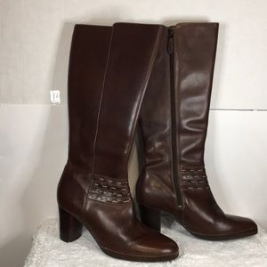 Clark's Artisan Collection Leather Boots Size 9